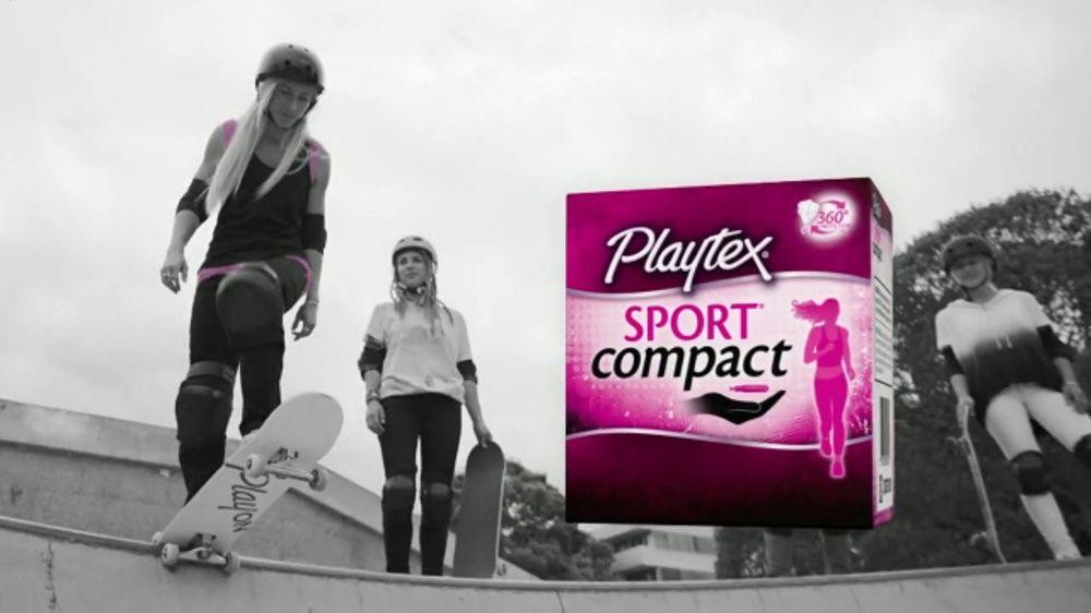e236356ea Playtex Sport Compact TV Commercial