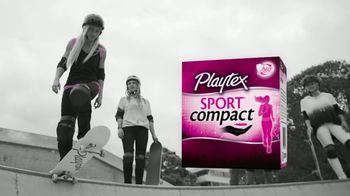 Playtex Sport Compact TV Spot, \'Discreetly Pocket-Sized\' Song by Baby Blue