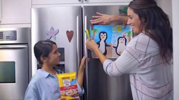 Nestle Toll House Refrigerated Cookie Dough TV Spot, 'Refrigerator Art'