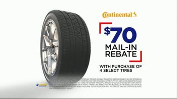 National Tire & Battery Big Brands Bonus Month TV Spot, 'Continental Tires' - Thumbnail 7