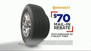 National Tire & Battery Big Brands Bonus Month TV Spot, 'Continental Tires' - Thumbnail 8