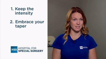 Hospital for Special Surgery TV Spot, 'Marathon Training Tips' - Thumbnail 5