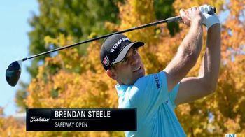 Titleist Pro V1x TV Spot: 'Winners' Circle: Brendan Steele' - 2 commercial airings