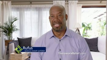 Theraworx Relief TV Spot, 'Muscle Cramps: Rufus' Featuring Dr. Drew Pinsky - 408 commercial airings