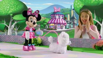 Minnie's Walk & Play Puppy TV Spot, 'Let's Go For a Walk'