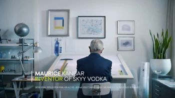 SKYY Vodka TV Spot, 'Make. Every Day. With Founder Maurice Kanbar' - 1005 commercial airings