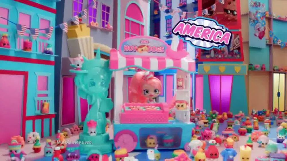 Shopkins World Vacation TV Commercial Last Stop Americas
