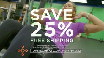 Tommie Copper TV Spot, 'Wearable Wellness: The Difference' - Thumbnail 10