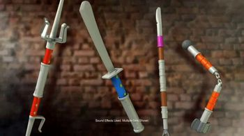 Teenage Mutant Ninja Turtles Ninja Build N' Battle TV Spot, 'Combat Gear'