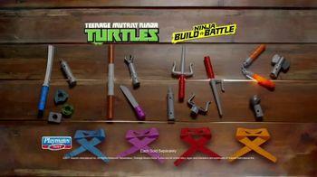 Teenage Mutant Ninja Turtles Ninja Build N' Battle TV Spot, 'Combat Gear' - Thumbnail 5