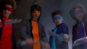 Teenage Mutant Ninja Turtles Ninja Build N' Battle TV Spot, 'Combat Gear' - Thumbnail 4