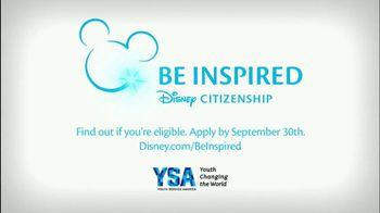 YSA TV Spot, 'Disney Channel: 2017 Summer of Service Grant Application' - Thumbnail 9