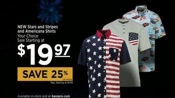 Bass Pro Shops Star Spangled Summer Sale TV Spot, 'Patriotic Shirts' - Thumbnail 7