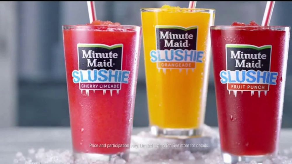 McDonald's Minute Maid Slushies TV Commercial, 'Totally Chill'