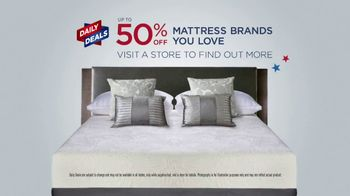 Mattress Firm 4th of July Sale TV Spot, 'Final Days: Free Adjustable Base' - Thumbnail 3