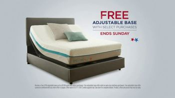 Mattress Firm 4th of July Sale TV Spot, 'Final Days: Free Adjustable Base' - Thumbnail 4