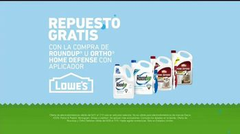 Lowe's Ofertas de Verano TV Spot, 'Roundup y Ortho Home Defense' [Spanish] - Thumbnail 5