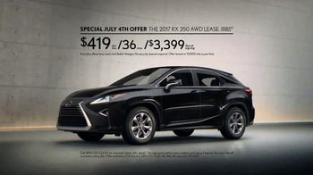 Lexus Special July 4th Offer TV Spot, 'To Err Is Human' [T2] - Thumbnail 8