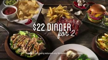 Chili's $22 Dinner for 2 TV Spot, 'Good Time' Song by Maxine Nightingale - Thumbnail 9