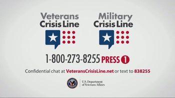 Veterans Crisis Line TV Spot, 'Father & Daughter' - Thumbnail 8