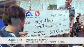Albertsons TV Spot, 'Grant Winner: Bryan Johnson' - Thumbnail 4