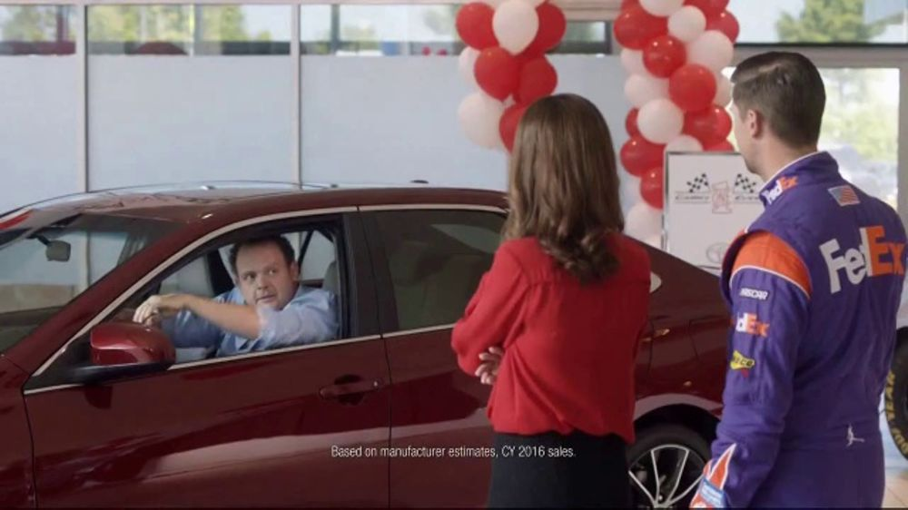 Toyota Camry Commercial Song >> Toyota Camry One Event TV Commercial, 'Test Drive' Featuring Denny Hamlin [T2] - iSpot.tv