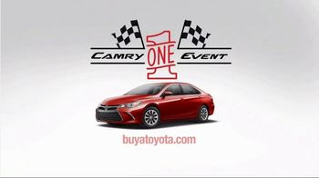 Toyota Camry One Event TV Spot, 'Test Drive' Featuring Denny Hamlin [T2] - Thumbnail 7
