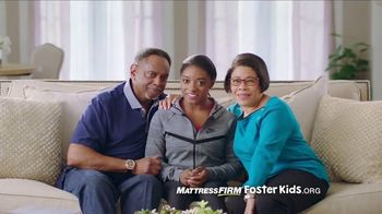 Mattress Firm Foster Kids TV Spot, 'School Supplies Drive' Ft. Simone Biles
