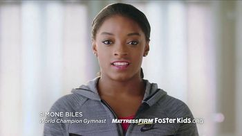 Mattress Firm Foster Kids TV Spot, 'School Supplies Drive' Ft. Simone Biles - Thumbnail 1