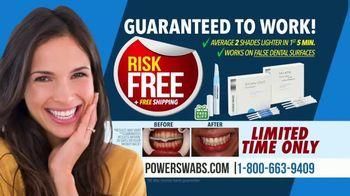 Power Swabs TV Spot, 'Coffee Smile: Risk Free' - Thumbnail 8
