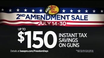 Bass Pro Shops NRA Freedom Days TV Spot, 'Savings on Guns' - Thumbnail 4