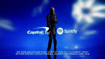 Capital One Quicksilver TV Spot, 'Let's Stay Together' Ft Samuel L. Jackson - Thumbnail 9