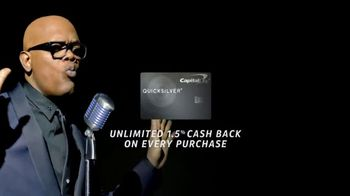 Capital One Quicksilver TV Spot, 'Let's Stay Together' Ft Samuel L. Jackson - Thumbnail 4