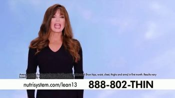 Nutrisystem Lean13  TV Spot, 'Bars & Shakes' Featuring Marie Osmond - Thumbnail 1