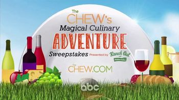 2017 The Chew's Magical Culinary Adventure Sweepstakes TV Spot, 'Epcot' - Thumbnail 1