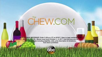 2017 The Chew's Magical Culinary Adventure Sweepstakes TV Spot, 'Epcot' - Thumbnail 8