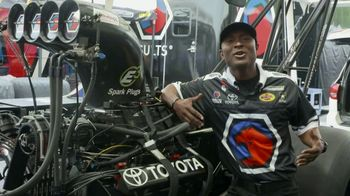 E3 Spark Plugs TV Spot, 'Better Fuel Efficiency' Featuring Antron Brown