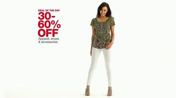 Macy's One Day Sale TV Spot, 'Apparel, Jewelry and Suits' - Thumbnail 4