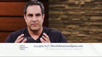 North American Spine TV Spot, 'Minimally Invasive Spine Care' - Thumbnail 2