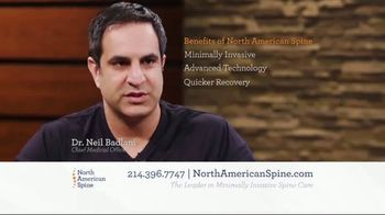 North American Spine TV Spot, 'Minimally Invasive Spine Care' - Thumbnail 3