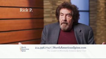 North American Spine TV Spot, 'Minimally Invasive Spine Care' - Thumbnail 6