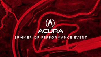 Acura Summer of Performance Event TV Spot, 'Cool Off' [T1] - Thumbnail 1