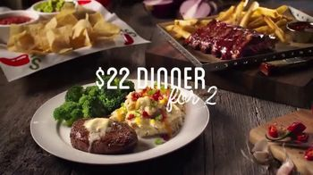 Chili's $22 Dinner for 2 TV Spot, 'Diviértete' [Spanish] - Thumbnail 5