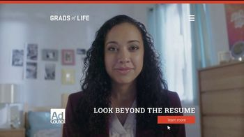 Grads of Life TV Spot, 'Beyond the Resume' - Thumbnail 4