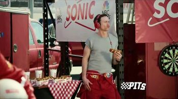 Sonic Drive-In Premium Pretzel Dogs TV Spot, 'NBC Sports Network: The Pits' - Thumbnail 2