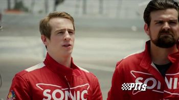 Sonic Drive-In Premium Pretzel Dogs TV Spot, 'NBC Sports Network: The Pits' - Thumbnail 3