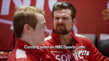 Sonic Drive-In Premium Pretzel Dogs TV Spot, 'NBC Sports Network: The Pits' - Thumbnail 6