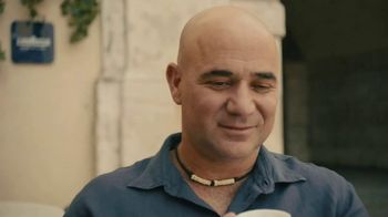 Lavazza TV Spot, 'Roland Garros 2017' Featuring Andre Agassi