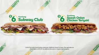Subway $6 Footlong Subs TV Spot, 'Everyone's Favorite' - Thumbnail 3