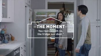 Lowe's TV Spot, 'The Moment: Refrigerator' - 1018 commercial airings
